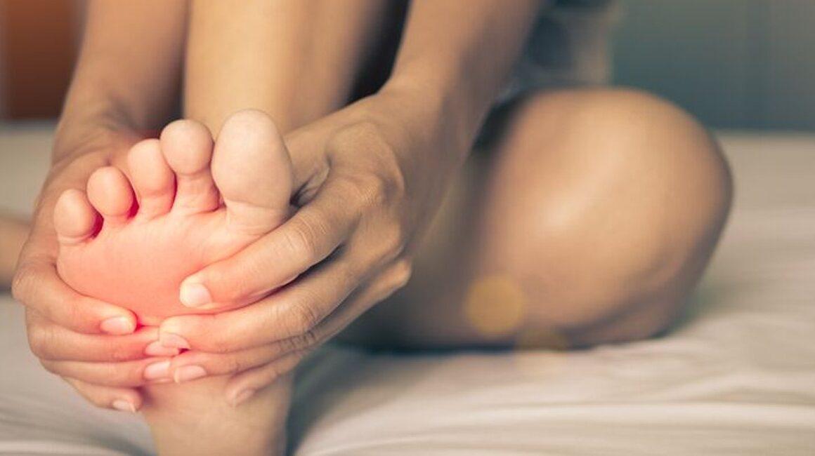 Dor na planta dos pés